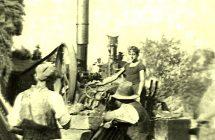 Ifjabb Vida Lajos (1924–1996) kovácsmester-gépész gőzgépe