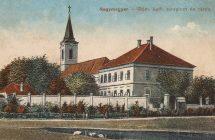 Nagymegyeri katolikus templom, zárda, 1930