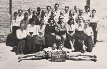Nagymegyeri Magyar Tannyelvű Alapiskola, 1954