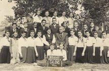 Nagymegyeri Magyar Tannyelvű Alapiskola, 1955