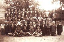 Nagymegyeri  Magyar  Alapiskola osztálya, 1951