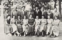 A Nagymegyeri Magyar Alapiskola első tantestülete, 1951