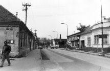 Nagymegyeri utcakép, 1980