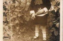 Pósa Zoltán gyerekkori fényképe Nemesradnóton