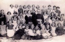 Nagymegyeri Zárda iskola tanulói,1929