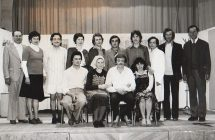 Amatőr színjátszók az 1970-es évek végén
